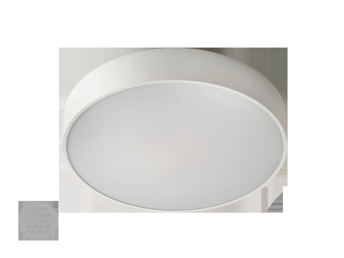 Rundo LED 5180lm 3000K IP40 ø600x62mm, üles-alla valgusega, alumiinium, valge / opaalne hajuti