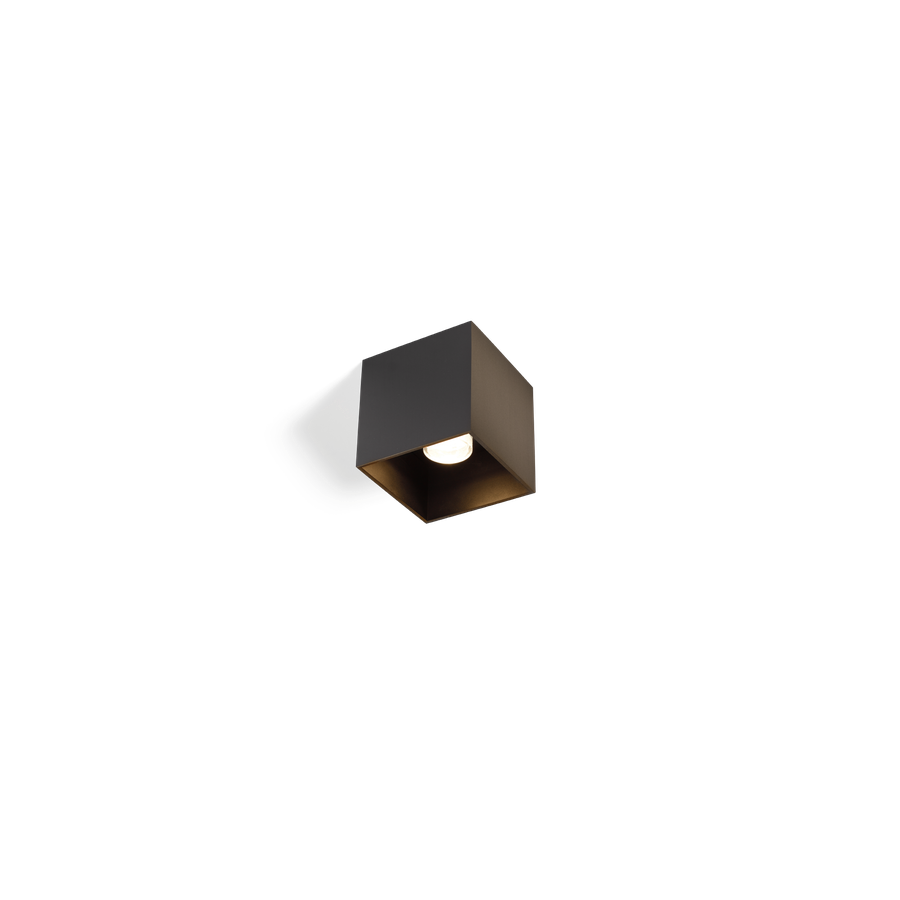 Välisvalgusti BOX 1.0 LED 8W 390lm 1800-2850K CRI>95, hämardatav, IP65, pronks
