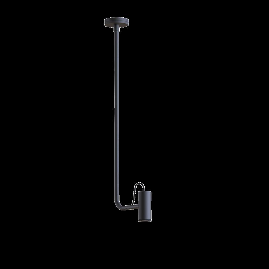 ROOMOR 1.0 E27 Max 15W E27 LED IP20 rippvalgusti, ilma kuplita, must