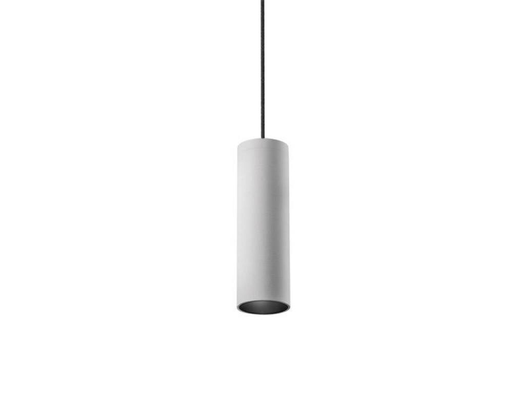 Miniperfetto-S 1450/1221lm 12W 3000K 30° valge, valge rosett, must kaabel.