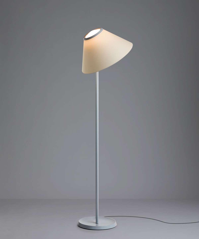 Põrandavalgusti Cappuccina LED 12W 717lm 2700K CRI90 alumiinium, hall (kuppel eraldi tellida)