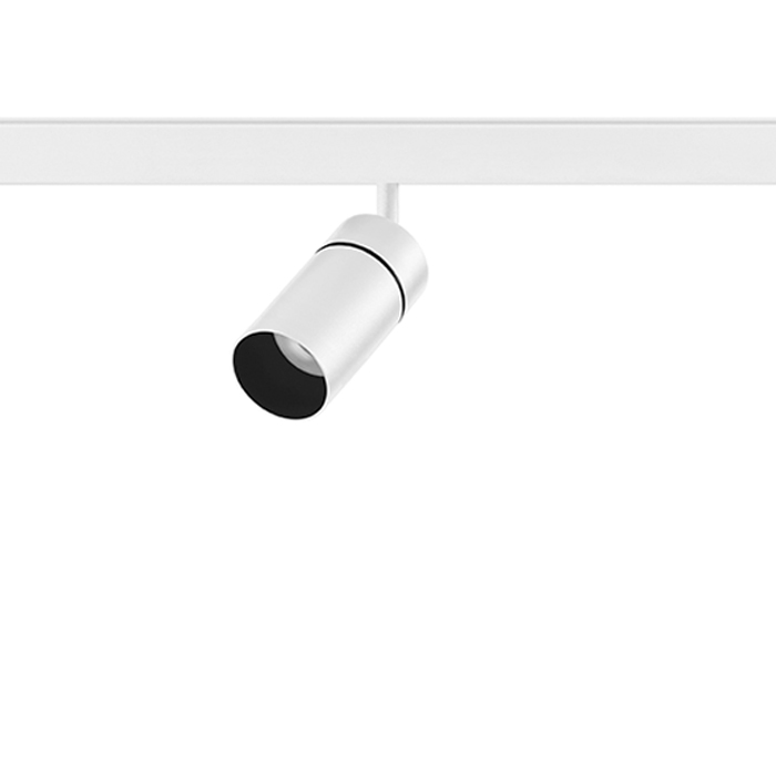 Siinivalgusti Yori Evo Ghostrack Mini 230V LED 9W 528lm 2700K CRI90 23° lääts, valge