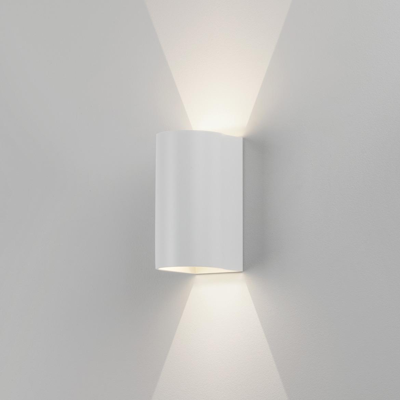 Dunbar 160 LED 6,8W 134lm 3000K IP65 seinavalgusti, valge