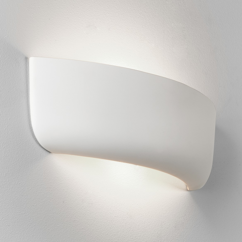 Gosford 460 Max 60W E27 IP20 seinavalgusti, hämardatav, keraamiline