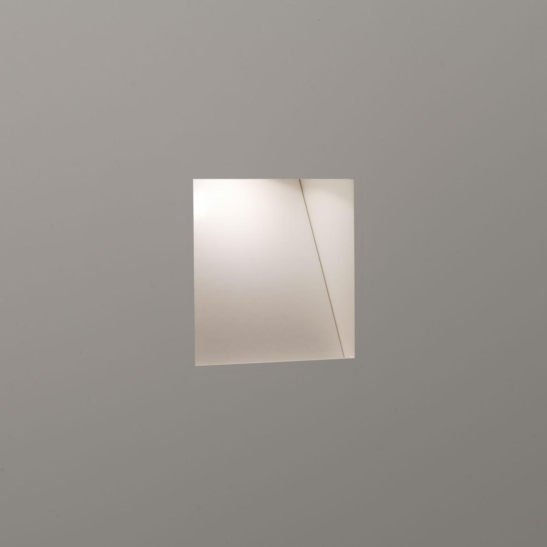 Borgo Trimless Mini LED 1W 29lm 2700K CRI90 IP20 seina süvistatav valgusti, hämardatav, matt valge, liiteseadmeta