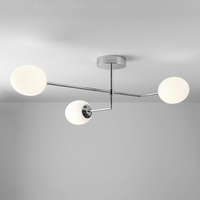 Kiwi Three 3x7,3W LED 3x555lm 2700K CRI>80, IP44 laevalgusti, kroom