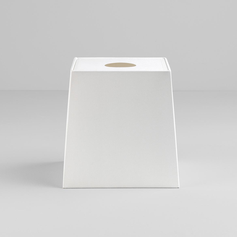 Tapered Square 195 vari Ravello Table valgustile, valge