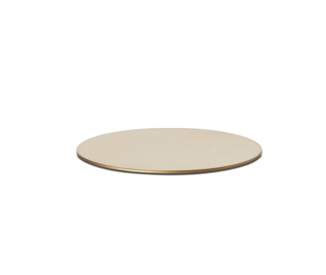 Lauaalus valgustile OGNIDOVE kuldne d=14cm