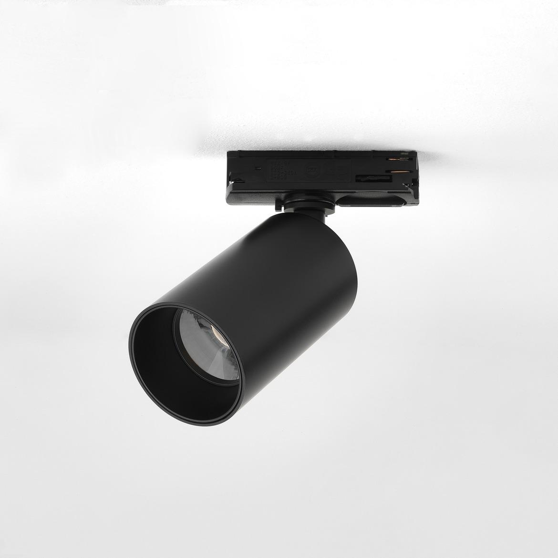 Can 50 Track LED 7,7W 502lm 3000K 33° IP20 siinivalgusti, hämardatav, matt must