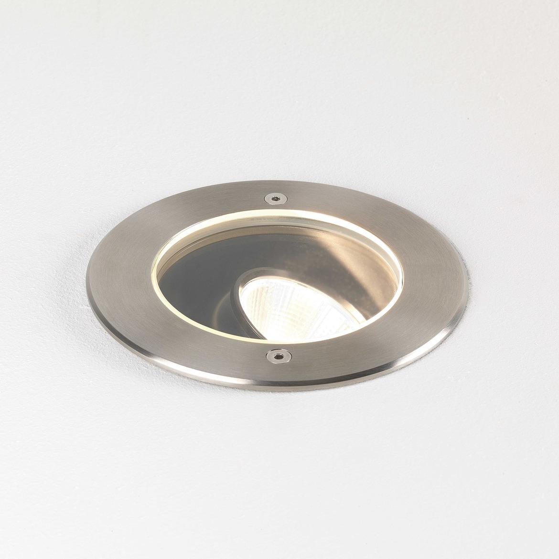 Cromarty 120 LED 15,2W 973lm 3000K 38* IP67 pinnasesse süvistatav valgusti, harjatud roostevaba