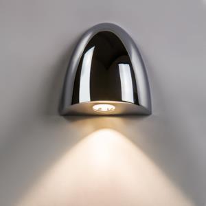 Orpheus LED 2W 66lm 2700K CRI90 IP65 vannitoavalgusti, hämardatav, poleeritud kroom, liiteseadmeta
