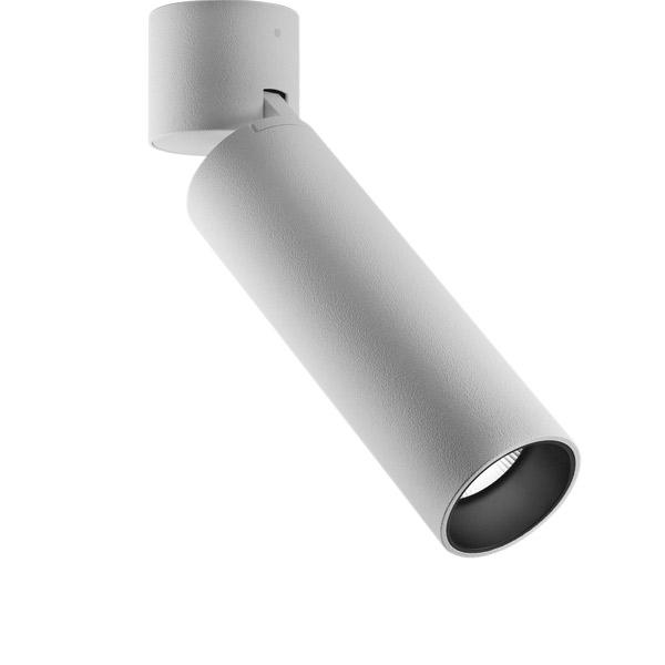 Miniperfetto, LED 9W 3000K 800lm, CRI90, 30° vihk, UGR<19, valge