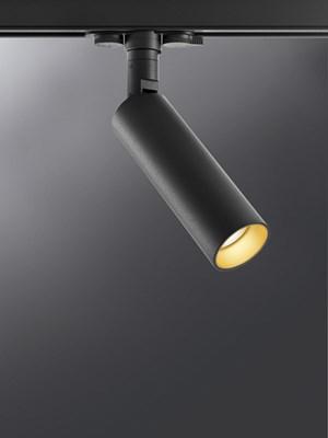 Miniperfetto LED 12W 1050lm 3000K CRI90, 30° vihk, must siinivalgusti