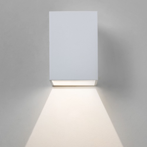 OSLO 100 LED 1x3W, 3000K, CRI 85, 47lm, LED 230V, valge, välisvalgusti seinale