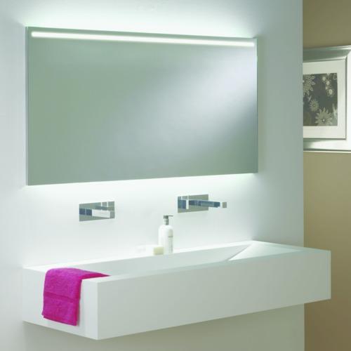 Avlon 1200 LED 1x14,4W, LED liiteseade komplektis, valgustatud peegel, poleeritud kroom raamiga IP44
