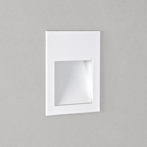 Borgo 54 LED 1W 30lm 2700K CRI90 IP65 seina süvistatav valgusti, hämardatav, valge, liiteseadmeta