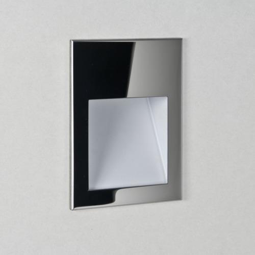 Borgo 54 LED 1W 30lm 2700K CRI90 IP65 seina süvistatav valgusti, hämardatav, poleeritud roostevaba, liiteseadmeta