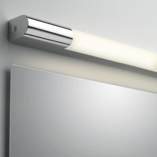 Palermo LED 6W 600mm, 364lm, 3000K CRI 80, vannitoavalgusti, LED liiteseade ja valgusllikas komplektis, poleeritud kroom viimistlusega, IP44