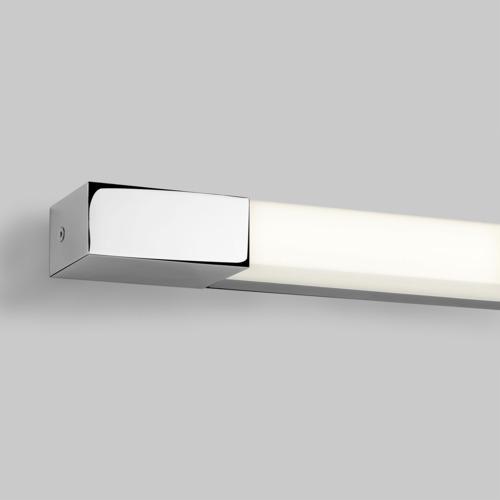 Romano LED 6W, niiskuskindel vannitoavalgusti, 352 lm, 3000K CRI 80, lülitita, LED liiteseade ja valgusallikas komplektis, poleeritud kroom/polükarbonaat hajuti, IP44