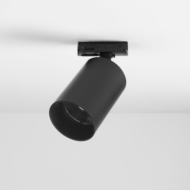 Can 75 Track LED 11,8W 986lm 3000K 28° IP20 siinivalgusti, hämardatav, matt must