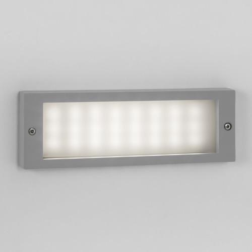 BRICK LED 2,4W 3000K, 188 lm, niiskuskindel seina süvistatud valgusti IP54
