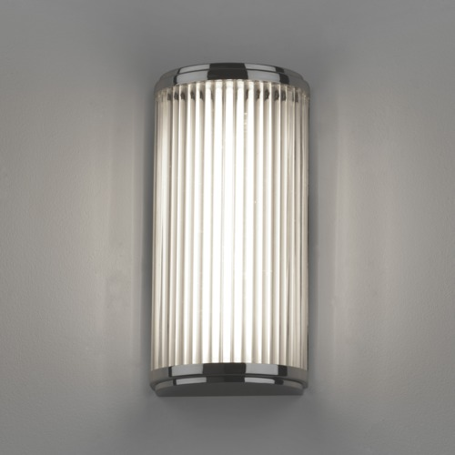 Versailles 250 LED 4,7W 371lm 3000K IP44 vannitoavalgusti, poleeritud kroom, klaasist hajuti