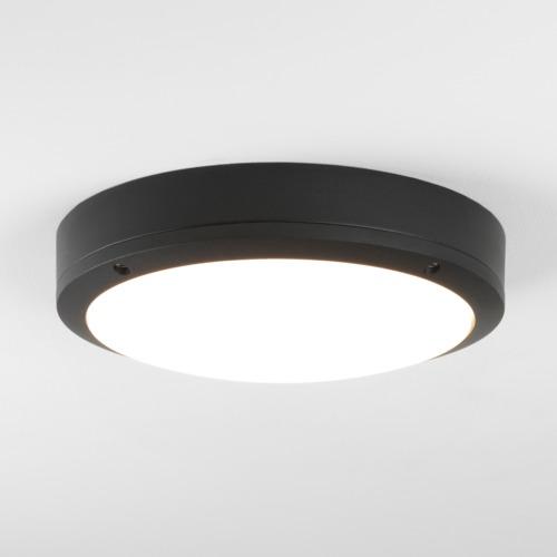 Arta LED 1 x 11,7W LED, 772 lm, 3000K, vannitoavalgusti lakke, must / polükarbonaat hajuti, IP54, LED liiteseade ja valgusallikas komplektis