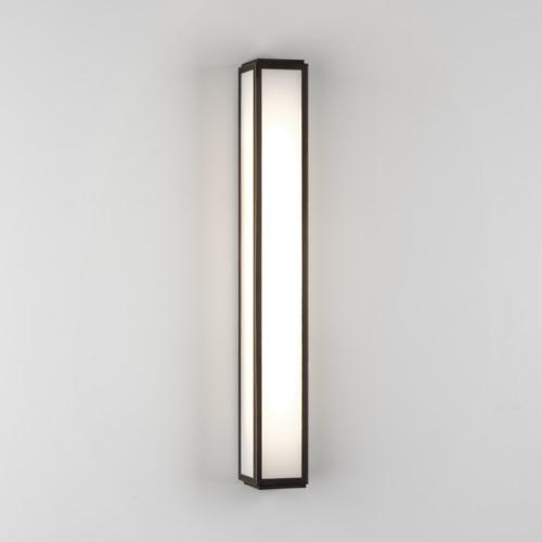 Mashiko 600 LED 1 x 10,8W LED-riba, 658 lm, seinavalgusti vannituppa, pronks/ polükabonaat hajuti, IP44, LED liiteseade ja valgusallikas komplektis