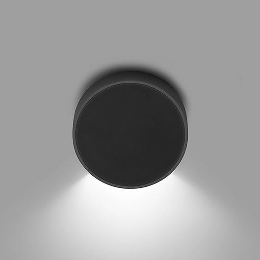 Vibia+Seinavalgusti ALPHA LED 2,1W 2700K black and chrome