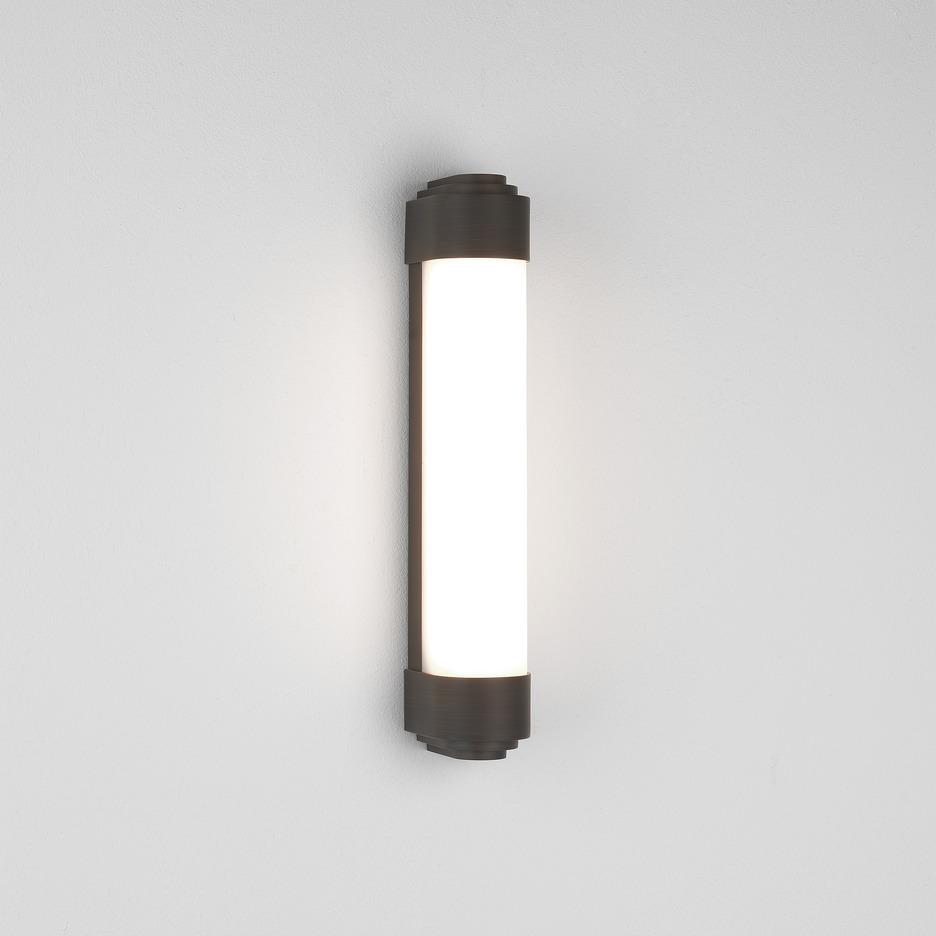 Belgravia 400 LED 11,5W 410lm 3000K IP44 seinavalgusti, pronks