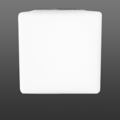 Lucis+Vega cube ceiling / wall 105mm 1x33 W   G9