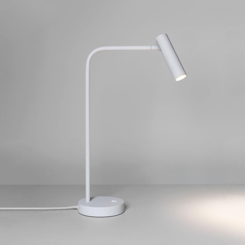 Enna Desk LED 4,5W 124lm 2700K CRI90 IP20 lauavalgusti, lülitiga, matt valge