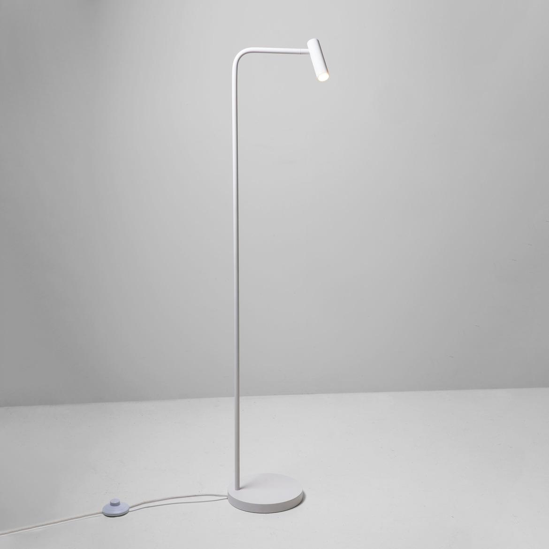 Enna Floor LED 4,5W 124lm 2700K CRI90 IP20 põrandavalgusti, lülitiga, matt valge
