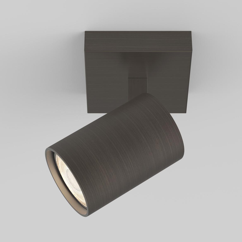 Ascoli Single Max 50W GU10 IP20 kohtvalgusti, hämardatav, pronks
