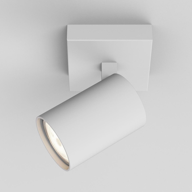 Ascoli Single Max 50W GU10 IP20 kohtvalgusti, hämardatav, valge