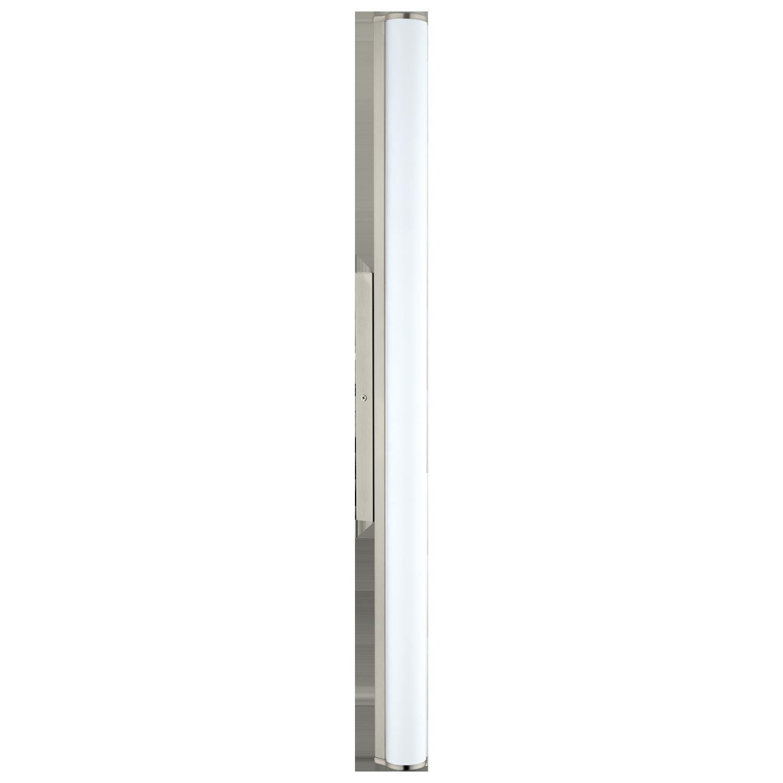 Seinavalgusti CALNOVA, LED 24W 4000K 2200lm, nikkel / satiin klaas, IP44, L=900mm