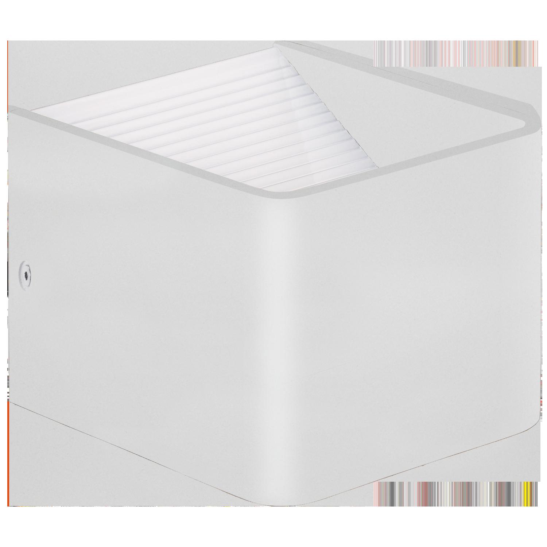 Sania 3, LED 6W 3000K 640lm; alumiinium, valge, valgus üles/alla