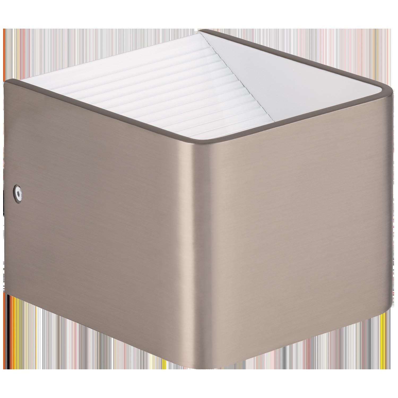 Sania 3, LED 6W 3000K 640 lm; alumiinium, satiin nikkel