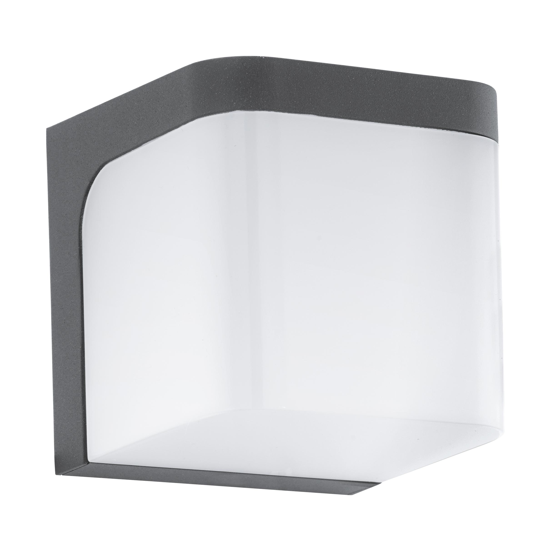 Välisvalgusti JORBA, LED 6W 500lm 3000K, IP44, alumiinium, antratsiit / plastik, valge