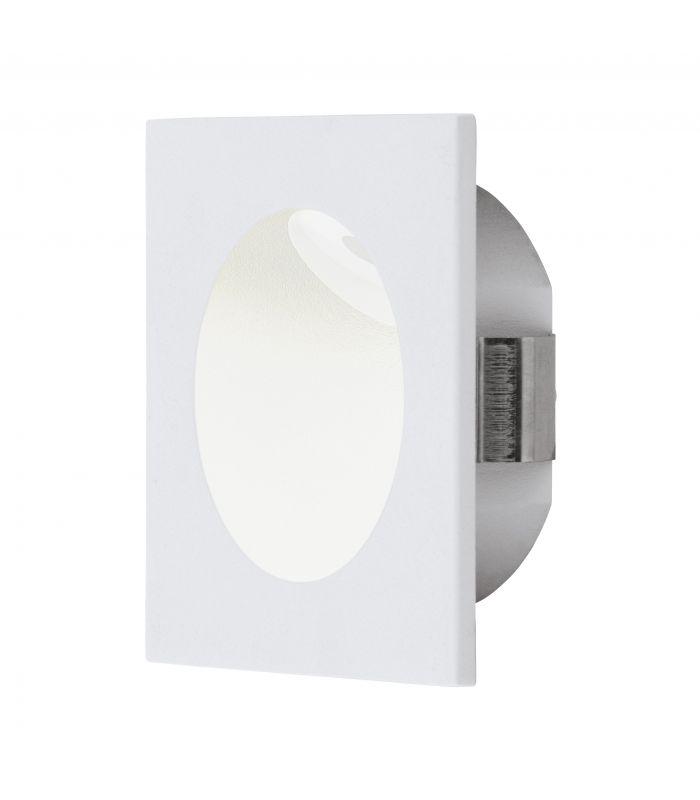 ZARATE 2W LED 170lm 3000K 230V seinavalgusti, valge (süvisava 68mm)