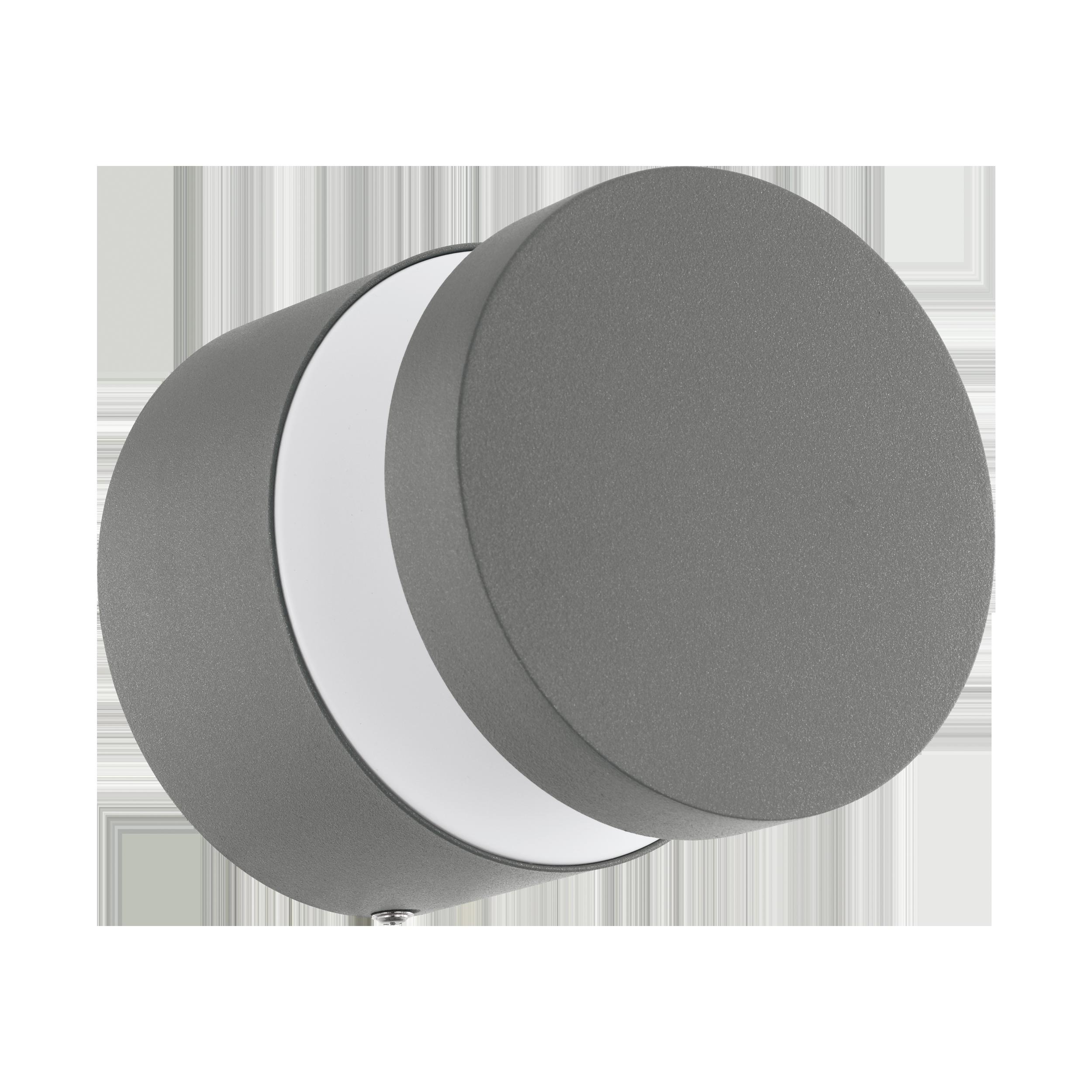 Välisvalgusti MELZO, LED 11W 950lm 3000K, IP44, alumiinium, hõbedane / plastik, läbipaistev