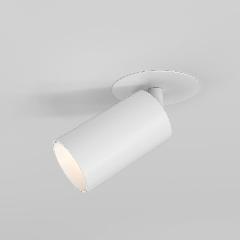 Can 50 Recessed LED 7,7W 502lm 3000K IP20 süvistatav kohtvalgusti, hämardatav, matt valge