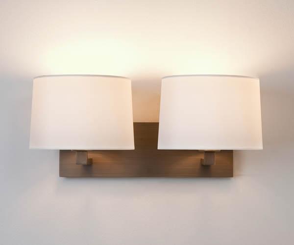 Seinavalgusti Azumi Twin 2x60W E27 (kuppel tellida eraldi, sobib art. A4018, A4037, A4019, A4043, A4021, A4024, A4064, A4151)