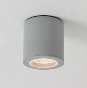 KOS ROUND LED 1x6W GU10 IP65, alumiinium, välisvalgusti lakke
