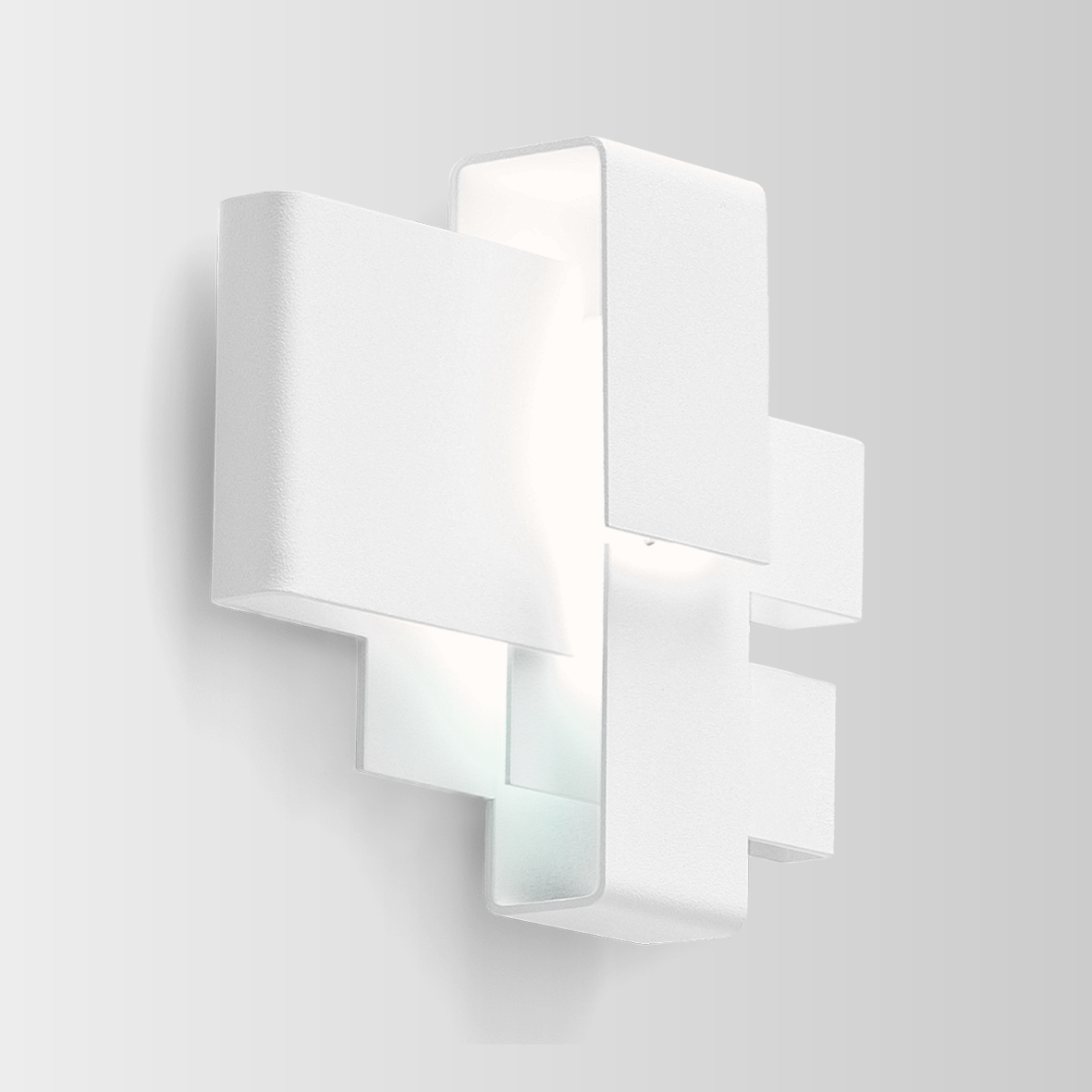 ARZY 1.0 LED 3000K 6W 80CRI 110-240VAC, valge seinavalgusti