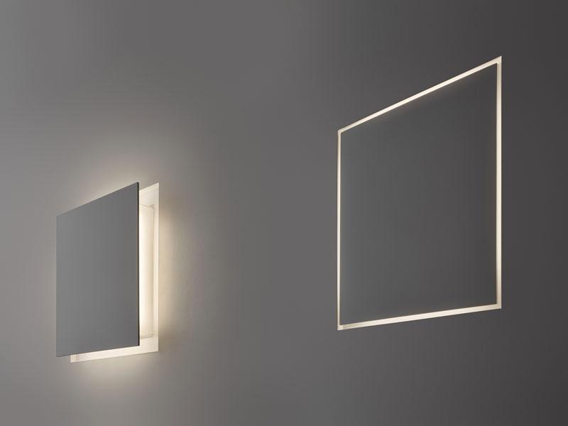 Aldemico seina süvisvalgusti LED valge, kahe rezhiimiga valgustugevus