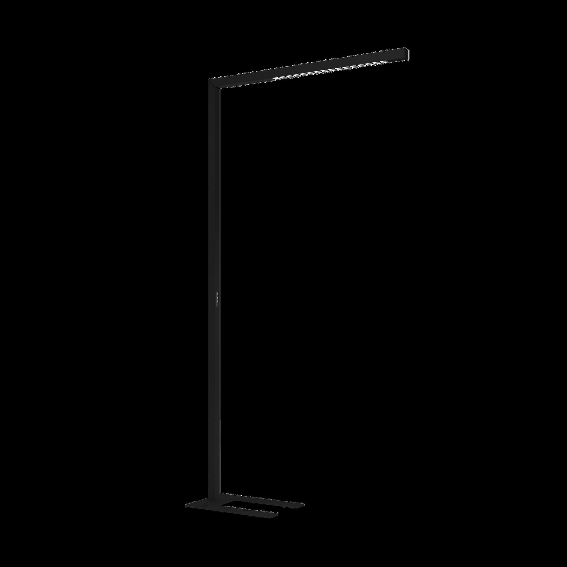 BETO LED 59W 7090lm 3000K UGR<13 päevavalguse ja liikumis sensoriga; alumiinium, must