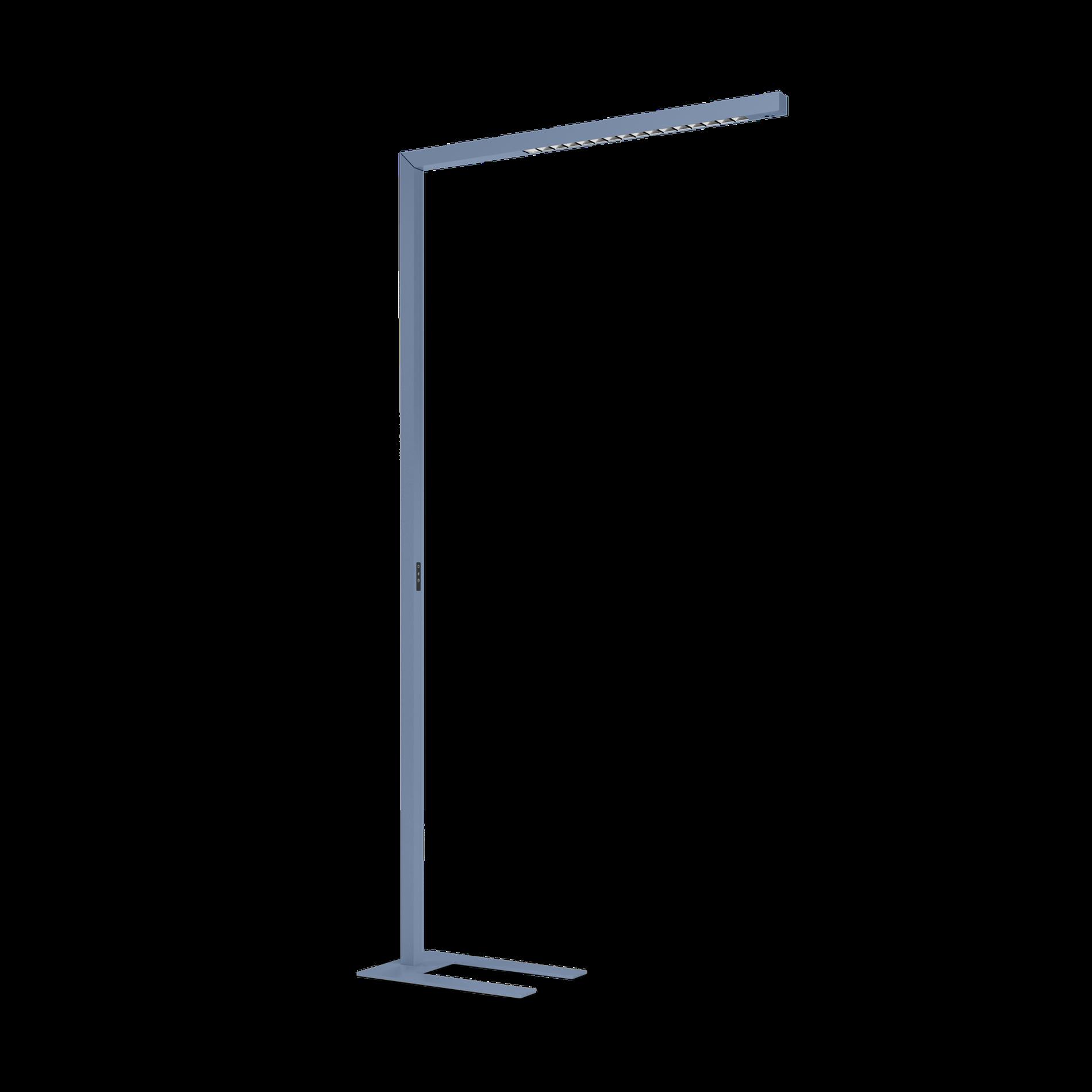 BETO LED 59W 7090lm 3000K UGR<13 päevavalguse ja liikumis sensoriga, alumiinium erivärvis