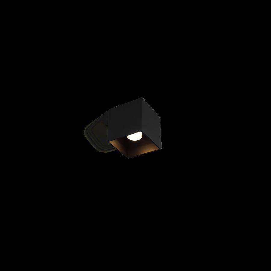 Välisvalgusti BOX 1.0 LED 8W 580lm 2700K CRI>80, hämardatav, IP65, must