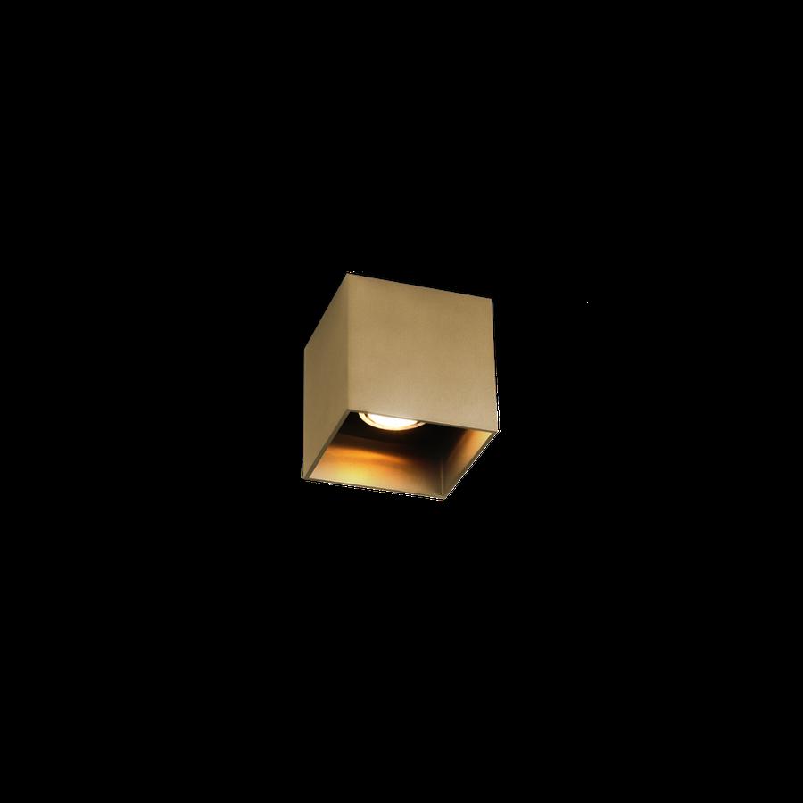Box Ceiling 1.0 LED 8W 2700K dim 80CRI 220-240V, Kuldne